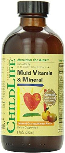 Niño vida Multi vitaminas y minerales, 8 onzas (paquete de 3), niño-gpdr