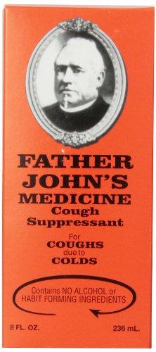 Padre John jarabe 8 Oz
