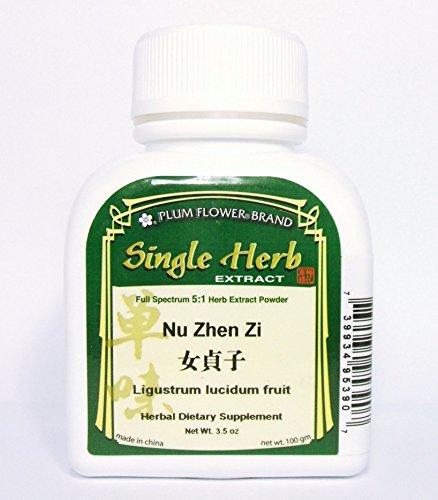Polvo del extracto de hierba de frutos de ligustro / Nu Zhen Zi / Ligustrum Lucidum, 100g o 3.5oz