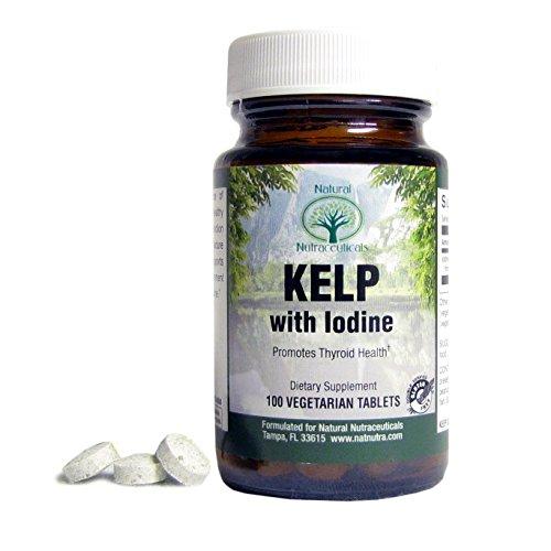 Nutra natural - suplemento de algas Kelp Premium - mayor fuente de yodo - fuente Natural, limpiarla, claro, no industrializados - soportes sanos tiroides, metabolismo y pérdida de peso - Gluten Free - vegana - vegetariana - 100 tabletas