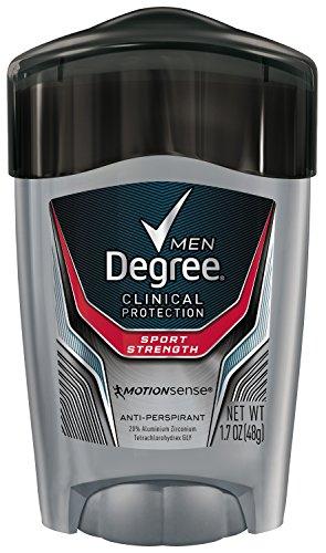 Hombres de grado clínico antitranspirante y desodorante, deporte fuerza 1.7 oz (paquete de 2)