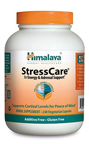 Himalaya Herbal Healthcare StressCare/Geriforte, Anti-Stress, 240 cápsulas vegetarianas