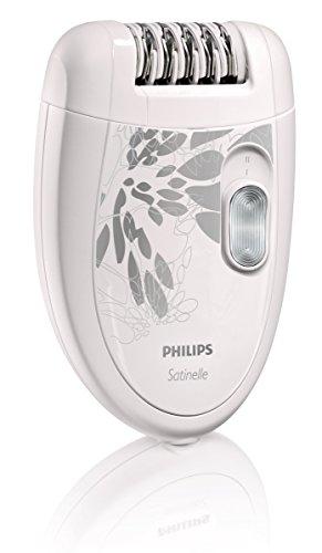 Philips HP6401 Satinelle depiladora, blanco y gris