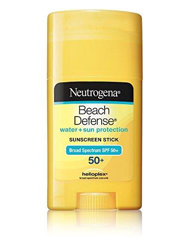 Neutrogena bloqueador solar playa defensa Stick SPF 50, 1,5 onzas