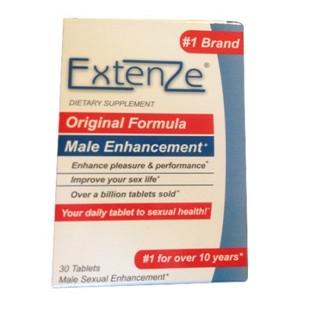 Extenze Original Formula Male Enhancement Tablets For Sexual Health - 30 Ea, 3 Pack