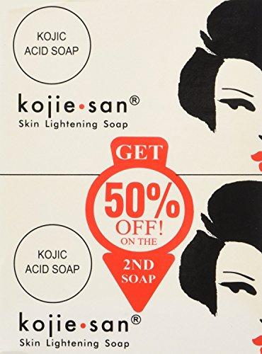 Kojie San Soap(2 Pack) aligeramiento de la piel