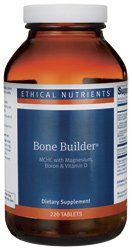 ÉTICAS nutrientes osea constructor w/magnesio boro y vitamina D ficha 220