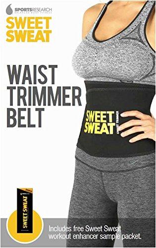 Dulce sudor prima cintura Trimmer. Incluye la muestra libre de sudor dulce entrenamiento Enhancer!
