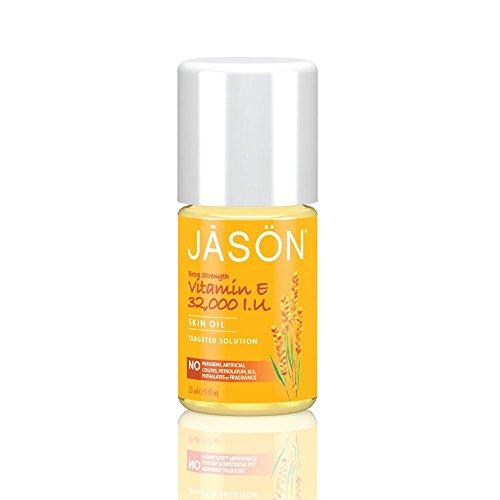 Fuerza adicional de 32.000 UI vitamina E y JASON objetivo solución aceite, 1 onza