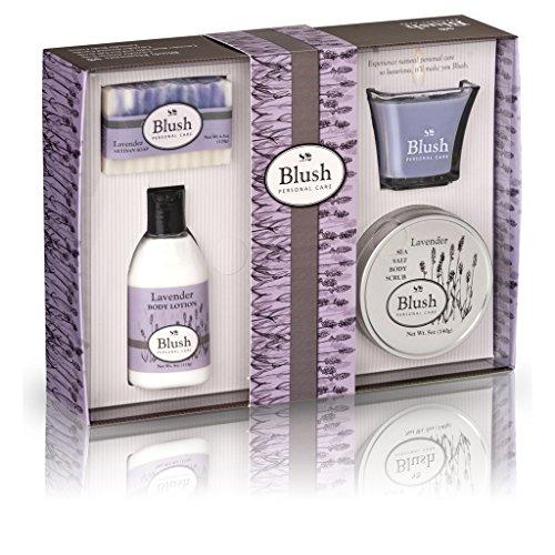 Baño de lavanda y cuerpo Set de regalo para mujeres - ingredientes naturales con aceites esenciales puros. Relajación y lujo piel cuidado que obras - ahora le miman con los mejores regalos de Spa de conjuntos de belleza y cestas