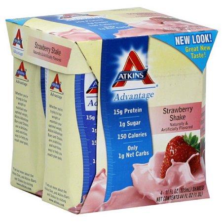 Fresa nutricional Batido recuento de 6 cajas de 4 frascos de 325ml