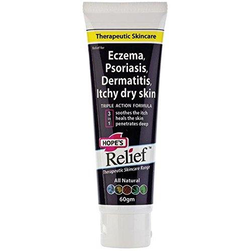 Socorro Premium Eczema crema 60g tubo de esperanza para aliviar los síntomas de Eczema y Psoriasis, con regalo de nudo chino 1PCS hecho en Australia