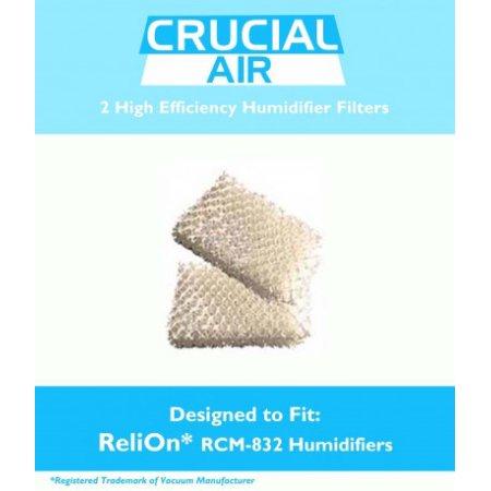 2 Filtros ReliOn humidificador Wick, Parte # WF813