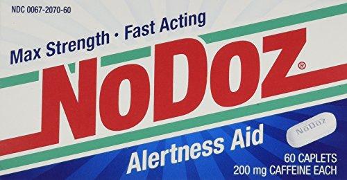 No-Doz Max fuerza acción rápida alerta ayuda, 60 cápsulas