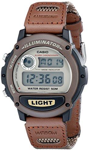 Casio W89HB-5AV iluminador deporte resina correa Watch de Men