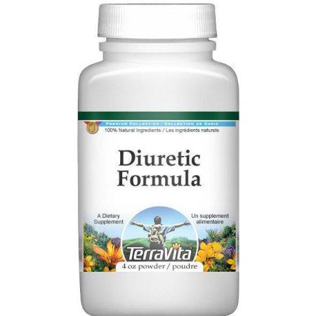 Diurético fórmula en polvo - Java té y cola de caballo (4 oz, ZIN: 514004)