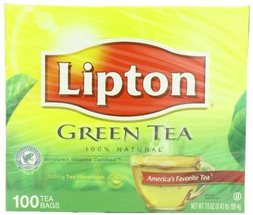 Té verde de Lipton, 100% Natural 100 hojas