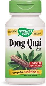 Forma Dong Quai raíz de la naturaleza--100 cápsulas / 565 mg