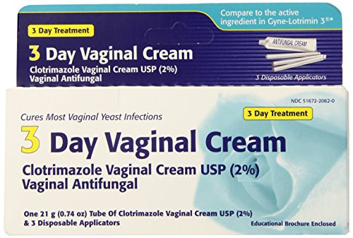 Clotrimazol - crema Vaginal de día - de 3 Oz 0,74
