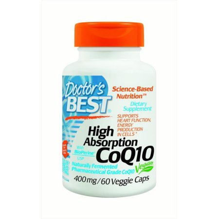 Doctor's Best Alta absorción CoQ10 400 mg, 60 Ct