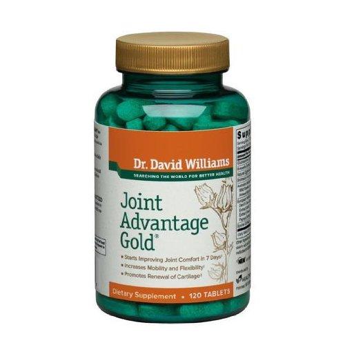 Ventaja conjunto oro dolor alivio suplemento Dr. David Williams, 360 tabletas (90 días de suministro)