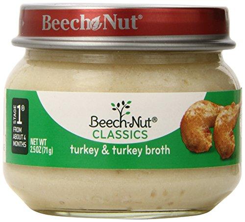 Haya-Nut etapa 1 pavo y caldo, 2,5 onzas (paquete de 10)