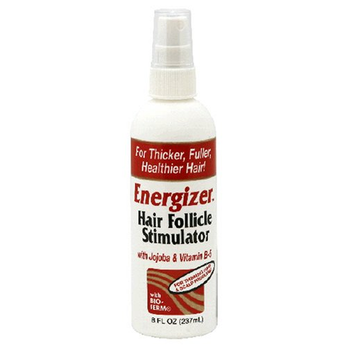 Estimulador del folículo piloso de Energizer, con Jojoba y vitamina B-5, 8-onzas (paquete de 2)