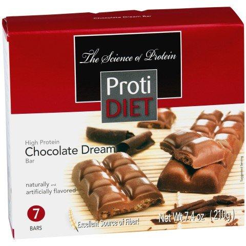 Sueño de chocolate sin azúcar proteína Bar