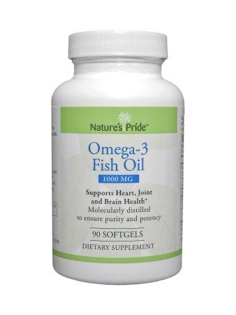 MCK11782700 - suplemento de aceite de pescado Omega3 Pr naturaleza naturalezas orgullo 1000 mg Softgel de fuerza 90 por botella