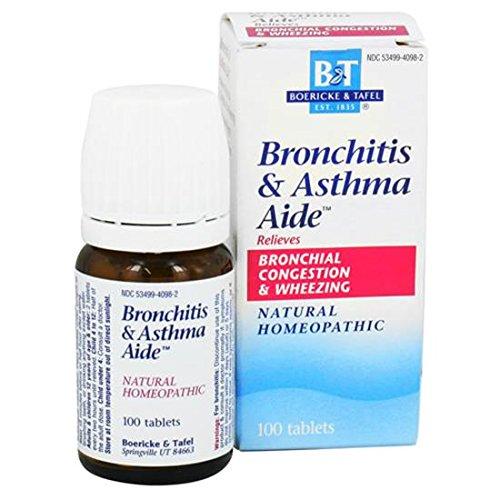 Fichas de Boericke y Tafel - bronquitis y asma ayudante 100 (paquete de 2)