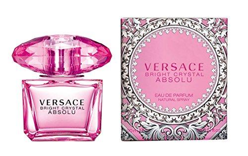 VERSACE Bright cristal Absolu Eau de Parfum Spray para mujeres, 3 onzas de líquido