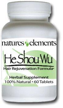 Él Shou Wu para canas - hierba China estimula el crecimiento del pelo - más de gran alcance Shou Wu disponibles - regalo con la compra de 3 botellas!