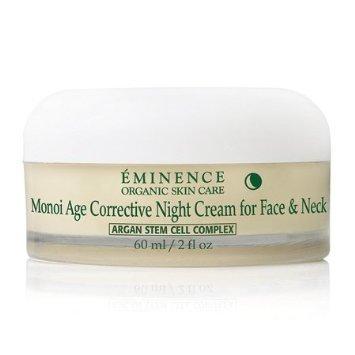 Eminencia crema de noche correctora de Monoi edad para cara y cuello