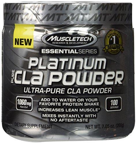 Productos de Muscletech - serie esencial CLA puro polvo - 7.05 oz.