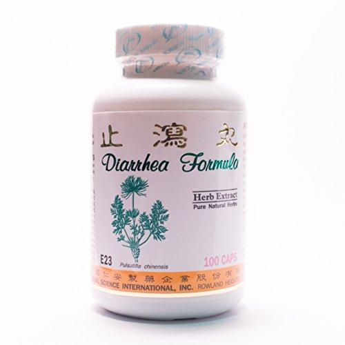 Diarrea fórmula dieta suplemento 500mg 100 cápsulas (Xie Zhi Wan) 100% hierbas naturales