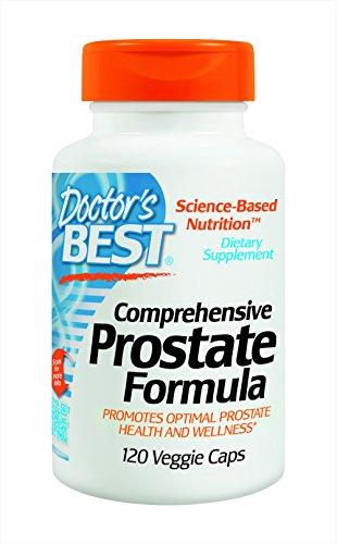 Mejor fórmula de próstata completa, tapas vegetarianas, 120-cuenta del doctor
