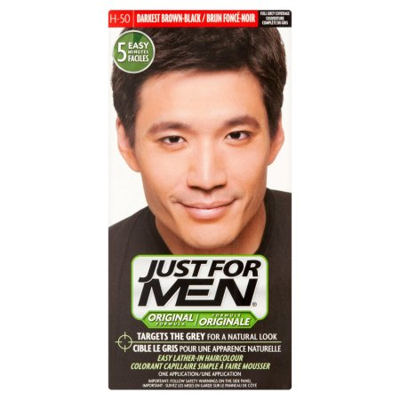 Just For Men Fórmula original Kit color de pelo H-47 Rich Café oscuro 1 ea