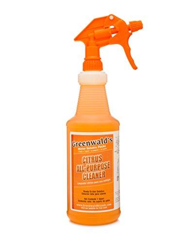 Greenwald de uso limpiador - bono recarga Pack hace 5 botellas con atomizador de 32 onzas adicionales - cítricos