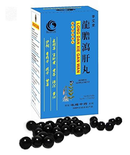 Largas Dan Xie Gan Wan - limpiar el hígado y la vesícula biliar píldoras - ct 200