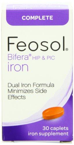 Feosol hierro completa, cuenta 30