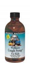 Source Naturals bienestar jarabe para la tos para niños, 8 onzas