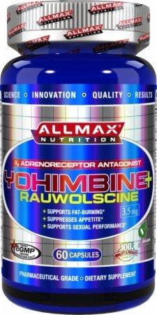 Nutrición de Allmax yohimbina más Rauwolscine - 60 cápsulas (yohimbina)