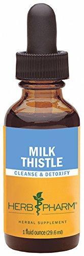 Extracto de semilla de cardo de leche Pharm hierba para soporte de la función hepática - 1 onza