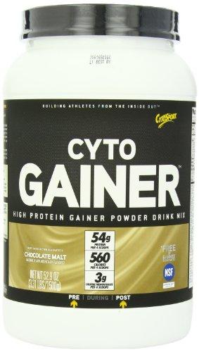 CytoSport Cyto Gainer proteína mezcla de la bebida, Malta Chocolate, 3,31 libras