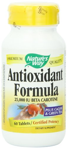 Manera de la naturaleza fórmula antioxidante, 60 comprimidos