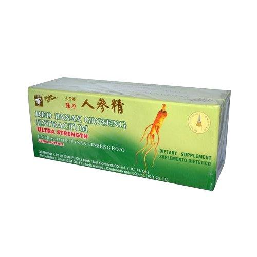 Príncipe de paz rojo Panax Ginseng Extractum Ultra Strength