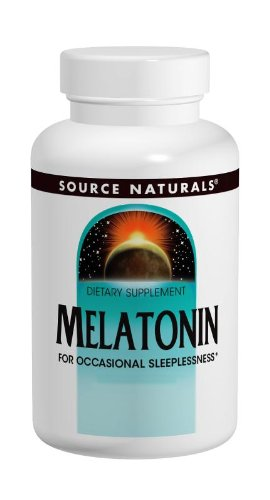 Fuente de productos naturales de melatonina 2.5 mg, naranja, 240 tabletas