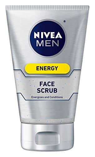 Nivea para hombres cara Scrub energía, 4,4 oz