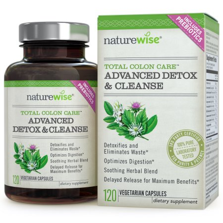 NatureWise Total Care Colón Advanced Detox 120 Cápsulas