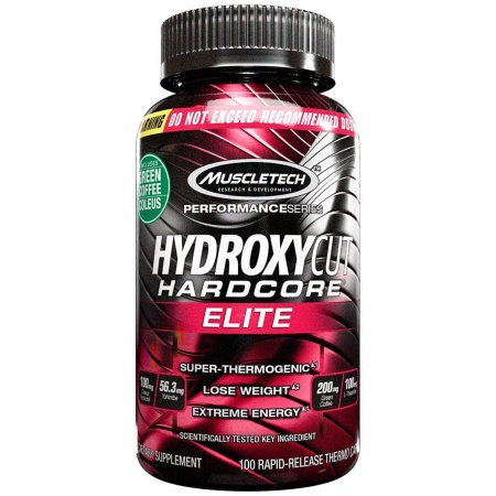 Hardcore Elite Hydroxycut Hardcore Elite 100 Cápsulas